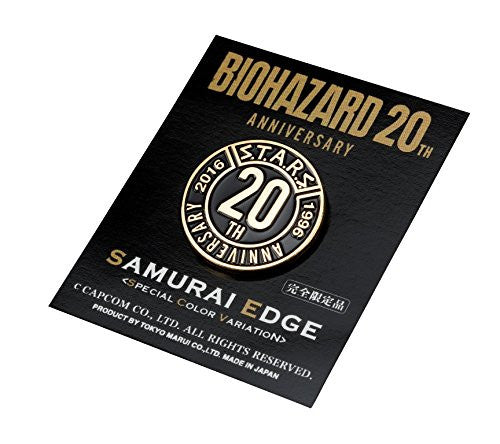 Image 4 for Biohazard 20th Anniversary Samurai Edge Special Color Variation Limited Model Airsoft Gun
