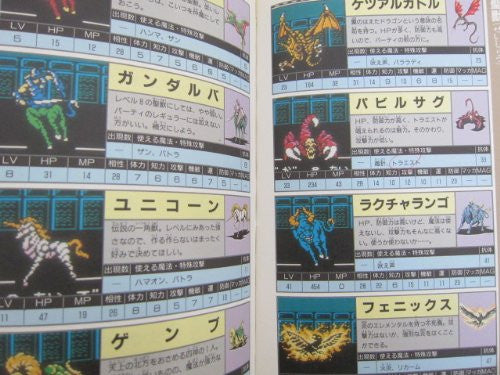 Image 5 for Digital Devil Story Megami Tensei Ii 2 Winning Strategy Guide Book / Nes