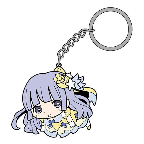 Image 1 for Date A Live II - Izayoi Miku - Tsumamare - Rubber Keychain - Keyholder (Cospa)