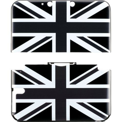 Image 2 for Design Cover for 3DS LL (Union Jack Monotone)