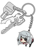 Thumbnail 3 for IS: Infinite Stratos - Laura Bodewig - Tsumamare - Rubber Keychain - Keyholder (Cospa)