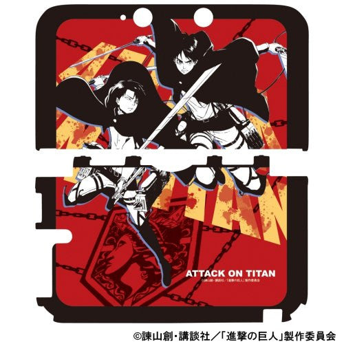 Image 3 for Shingeki No Kyojin Protect Case for 3DS LL (Crimson)