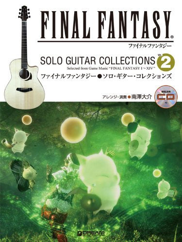 Image 1 for Final Fantasy Solo Guitar Collections #2 Sheet Music Book W/Cd