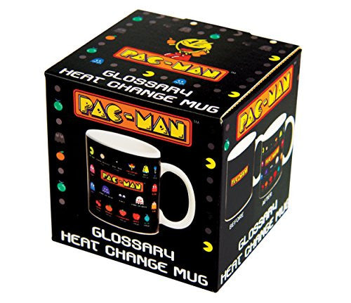 Image 3 for Pac-Man - Kimagure - Machibuse - Oikake - Otoboke - Mug - Heat Change Mug (Paladone)