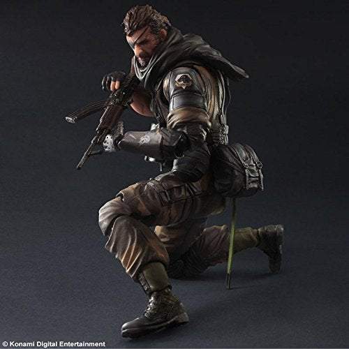 Image 4 for Metal Gear Solid V: The Phantom Pain - Naked Snake - Play Arts Kai - Splitter ver. (Square Enix)