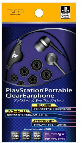 Image 1 for Fujiwork PlayStation Clear Earphone (PSP)