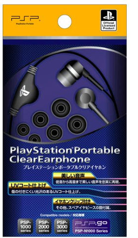 Image for Fujiwork PlayStation Clear Earphone (PSP)