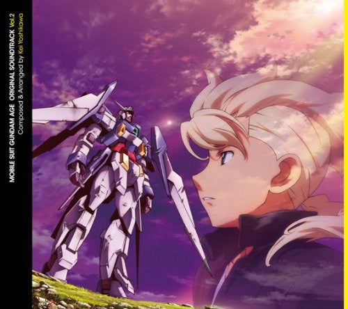Image 1 for Mobile Suit Gundam AGE Original Soundtrack Vol.2