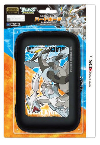 Image for Pokemon Hard Pouch for 3DS LL (Black Kyurem & White Kyurem Version)