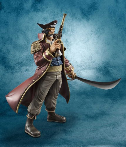 Image 4 for One Piece - Gol D. Roger - Excellent Model - Portrait Of Pirates DX - 1/8 (MegaHouse)