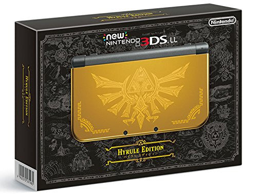 Image 1 for New Nintendo 3DS LL Hyrule Edition [Limited Edition]