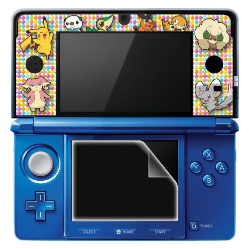 Image 2 for Pocket Monster Protection Filter Decoration Seal Set for Nintendo 3DS (Best Wish Version)