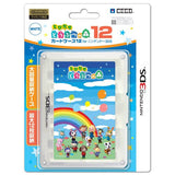 Thumbnail 1 for Tobidase Doubutsu no Mori Card Case 12 for 3DS (White)