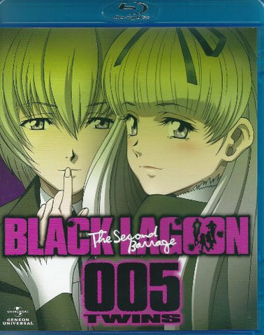 Image for Black Lagoon The Second Barrage Blu-ray 005 Twins
