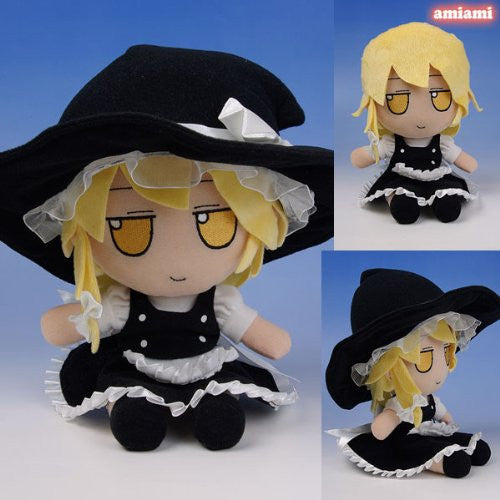 Image 1 for Touhou Project - Kirisame Marisa - FumoFumo - Touhou Plush Series 02 (AngelType, Gift)