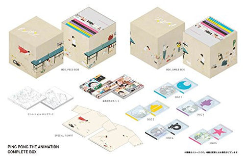 Image for Pingpong Complete Box [DVD+CD Limited Edition]