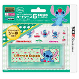 Thumbnail 1 for Disney Character Card Case 6 Seal Set for Nintendo 3DS (Stitch)
