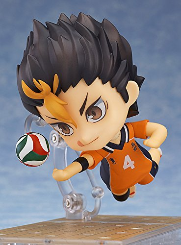 Image 3 for Haikyuu!! Second Season - Nishinoya Yuu - Nendoroid #592 (Orange Rouge)