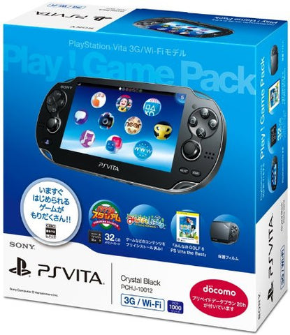 Image for PSVita PlayStation Vita - 3G/Wi-Fi Model [Play! Game Pack]