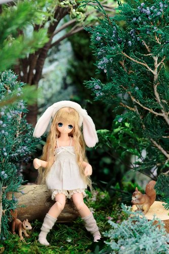 Image 4 for Miu - Ex☆Cute - PureNeemo - 1/6 - Komorebimori no Dobutsutati ♪, Rabbit (Azone)
