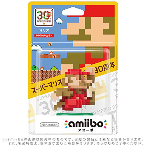 Image 2 for Super Mario Brothers - Mario - Amiibo - Amiibo Super Mario Bros. 30th Series - Classic Colour (Nintendo)