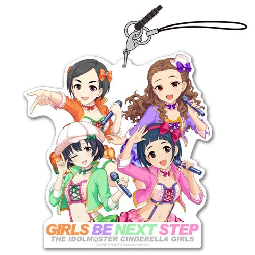 The Idolmaster Cinderella Girls - GIRLS BE NEXT STEP - Acrylic Strap