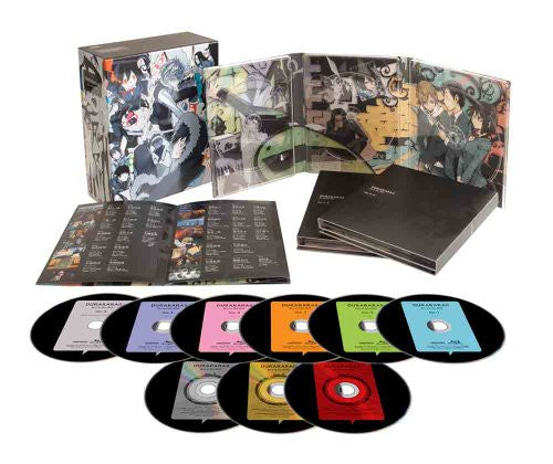 Image 1 for Durarara Blu-ray Disc Box [6Blu-ray+3CD Limited Edition]
