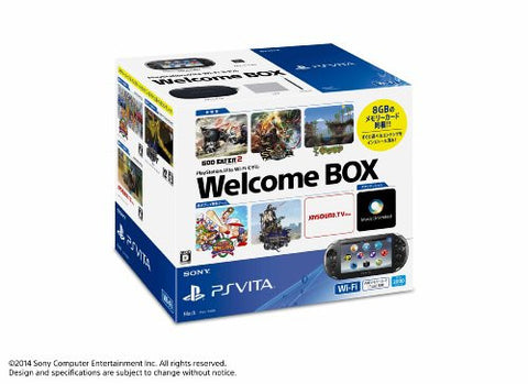 Image for PS Vita PlayStation Vita New Slim Model Welcome Box