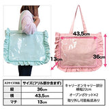 Thumbnail 3 for Ita Bag - Clear Tote Bag - Frills - White