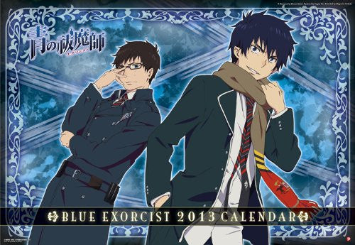 Image 1 for Ao no Exorcist - Wall Calendar - 2013 (Ensky)[Magazine]