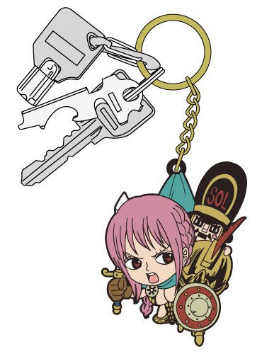 Image 3 for One Piece - Rebecca - Thunder Soldier - Keyholder - Rubber Strap - Tsumamare (Cospa)