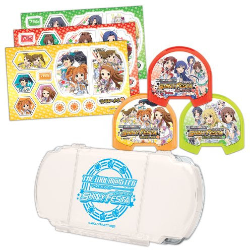 Image 3 for The Idolm@ster Shiny Festa Accessory Set for PSP