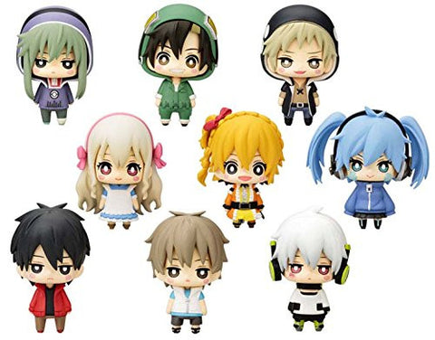 Mekaku City Actors One Coin Mini Figure Collection