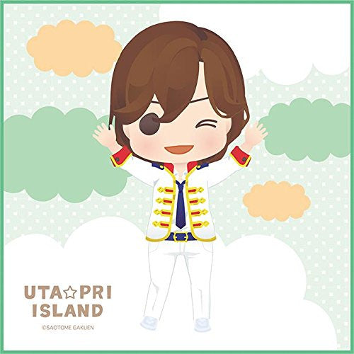 Image 1 for Uta no☆Prince-sama♪ - Kotobuki Reiji - Mini Towel - Uta☆Pri Island (Broccoli)