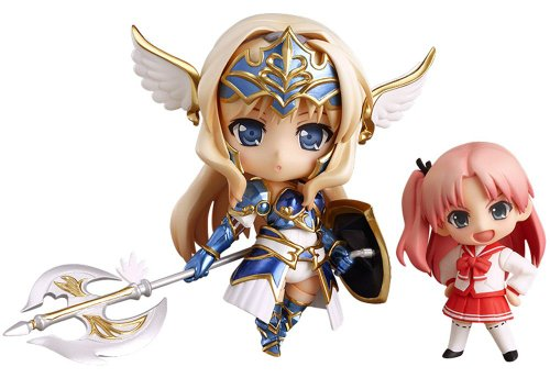 Image 1 for Aquapazza - Final Dragon Chronicle -Guilty Requiem- - To Heart 2 - Kusugawa Sasara - Nendoroid #272 - Valkyrie ver. (Good Smile Company)