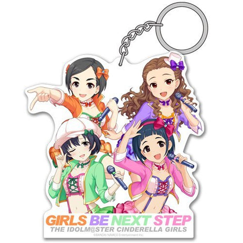 The Idolmaster Cinderella Girls - GIRLS BE NEXT STEP - Acrylic Key Chain
