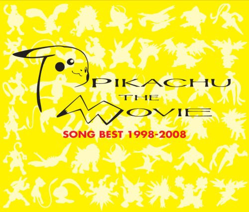 Image 1 for Pikachu the Movie Song Best 1998-2008