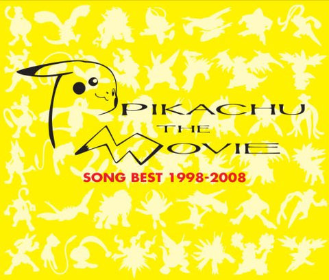 Image for Pikachu the Movie Song Best 1998-2008