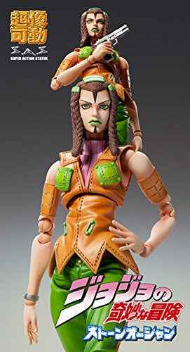 Image 5 for Jojo no Kimyou na Bouken - Stone Ocean - Hermes Costello - Super Action Statue #73 (Medicos Entertainment)