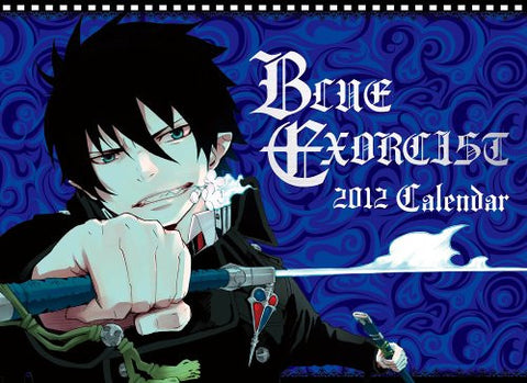 Image for Ao no Exorcist - Comic Calendar - Wall Calendar - 2012 (Shueisha)[Magazine]