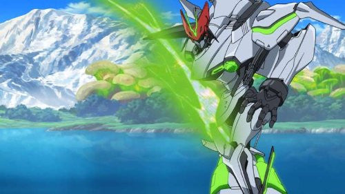 Image 2 for Eureka Seven AO: Jungfrau no Hanabanatachi Game & OVA Hybrid Disc