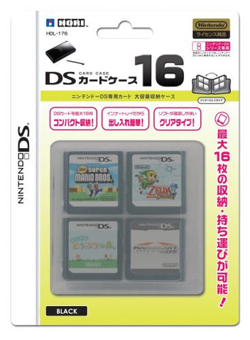 Image for DS Card Case 16 (Black)