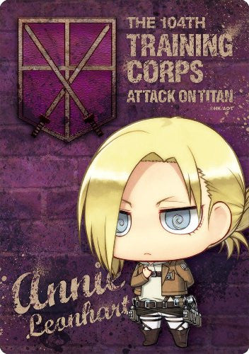 Image 1 for Shingeki no Kyojin - Annie Leonhart - Mousepad - Chimi, Salute ver. (Gift)