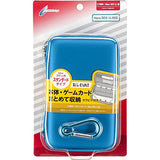 Semi Hard Case for New 3DS LL (Blue) - 1