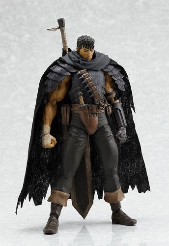 Image 2 for Berserk - Guts - Figma - Black Soldier ver. - 120 (Max Factory)