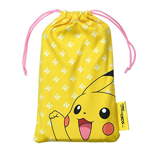 Image 5 for Pokemon Cleaner Pouch for New 3DS LL (Pikachu)