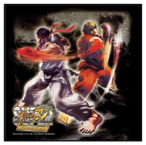 Image 2 for Super Street Fighter IV 3D Edition Cleaning Cloth 3DS (Ryu & Ken)