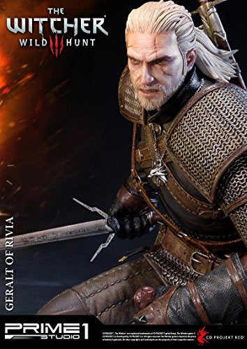 Image 6 for The Witcher 3: Wild Hunt - Geralt - Howler - Premium Masterline PMW3-01 - 1/4 (Prime 1 Studio)