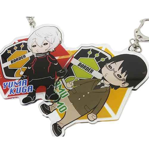 Image 3 for World Trigger - Arashiyama Jun - Keyholder (Hasepro)