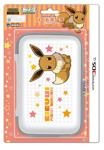 Image 1 for Pokemon Hard Pouch for 3DS LL (Eievui Version)